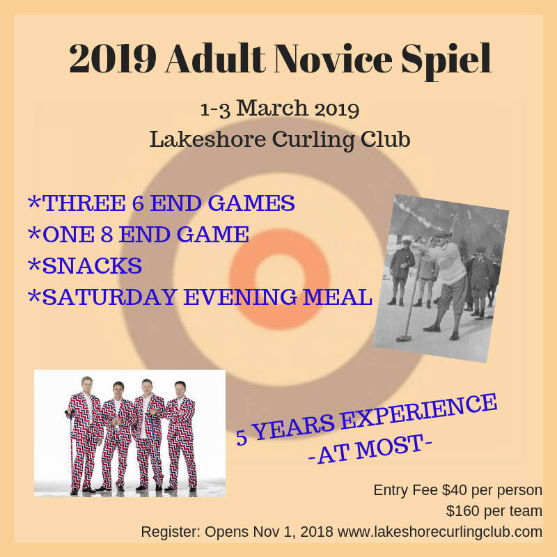 Pink Ladies Funspiel - Montague Curling Rink
