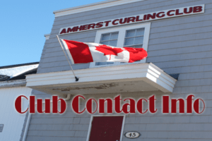 Amherst Curling Club Contact Info