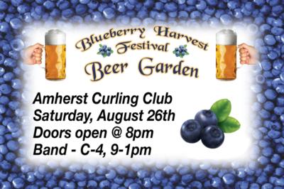 Blueberry Harvest Festival Beer Garden