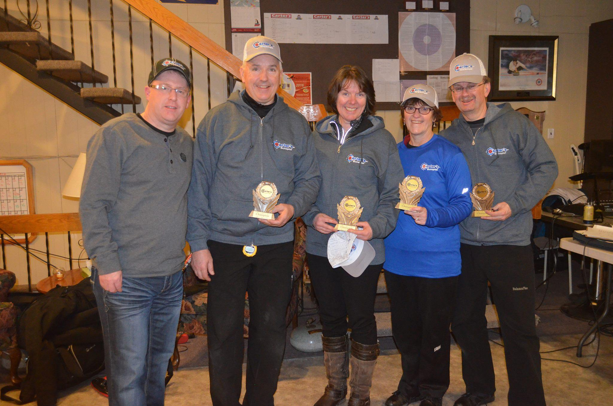 Carter's Sports Cresting Bonspiel 2016 Winners