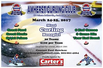 Carter's Sports Cresting closing bonspiel