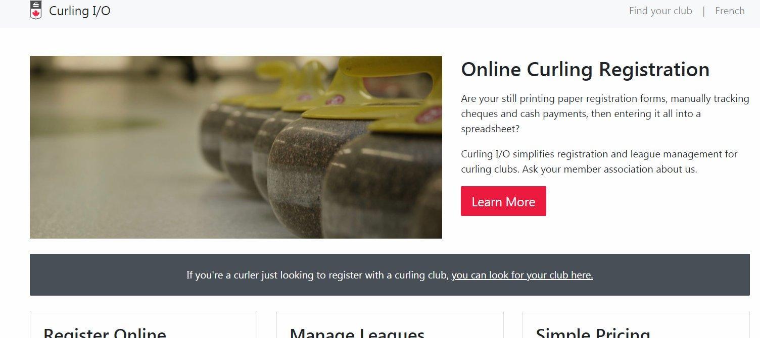Amherst Curling Club Online Curling Registration