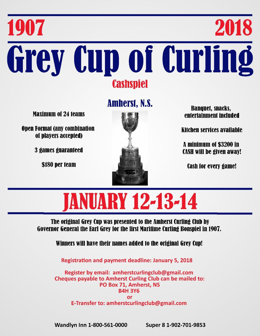 Grey Cup of Curling
