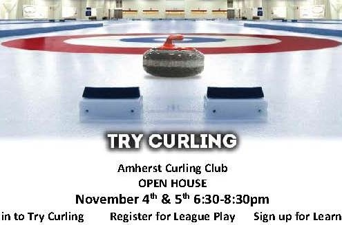 Amherst Curling Club Open House
