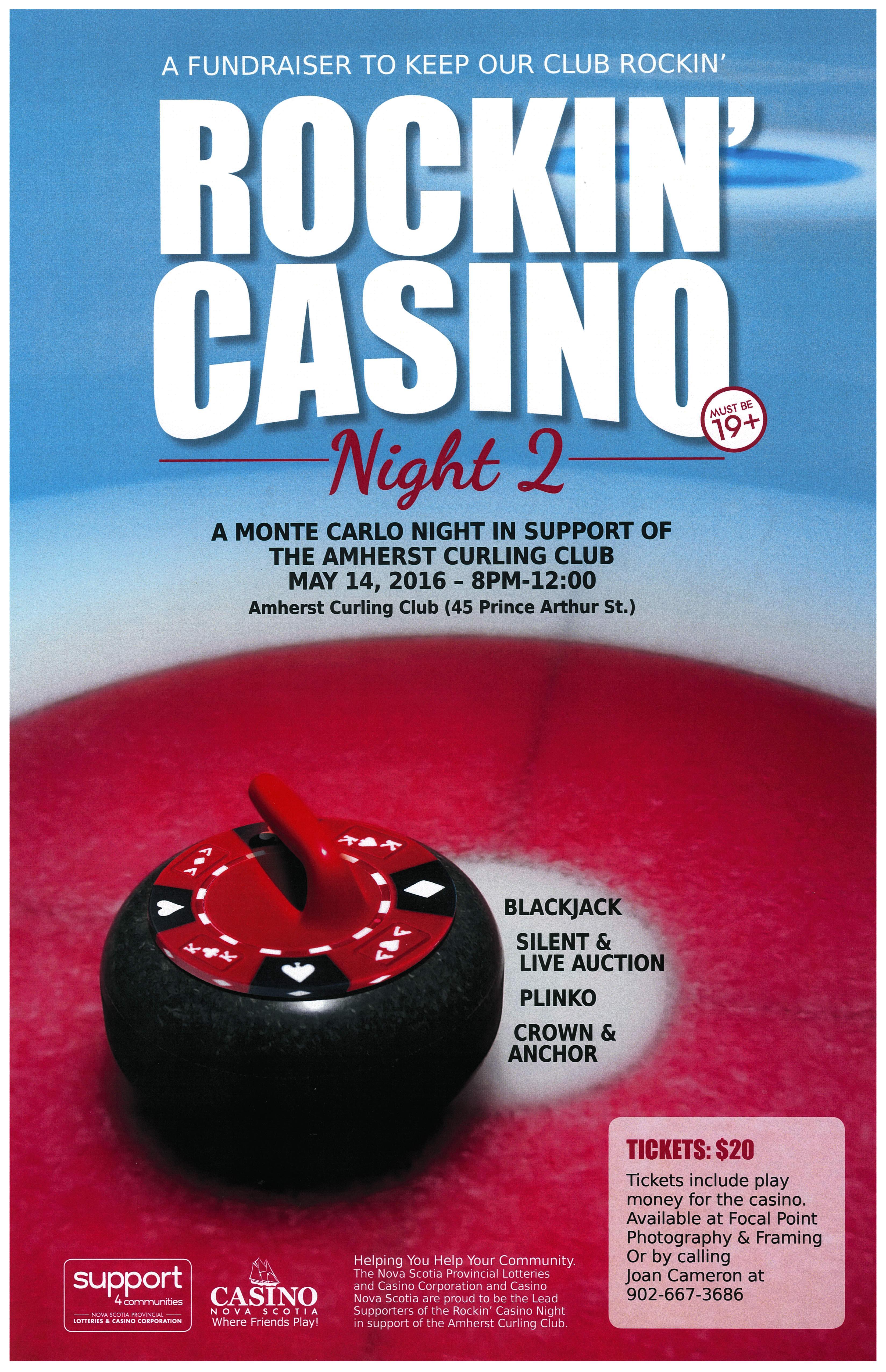 Rockin' Casino Night - May 14th, 2016
