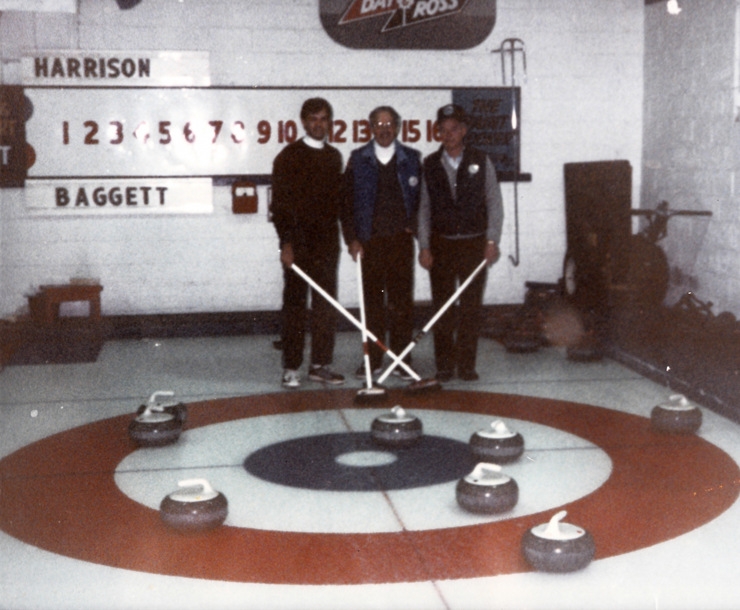 This 8 Ender occurred at the Monctonian and includes Brian Harrison, Ron Cormier and Bud Rayworth