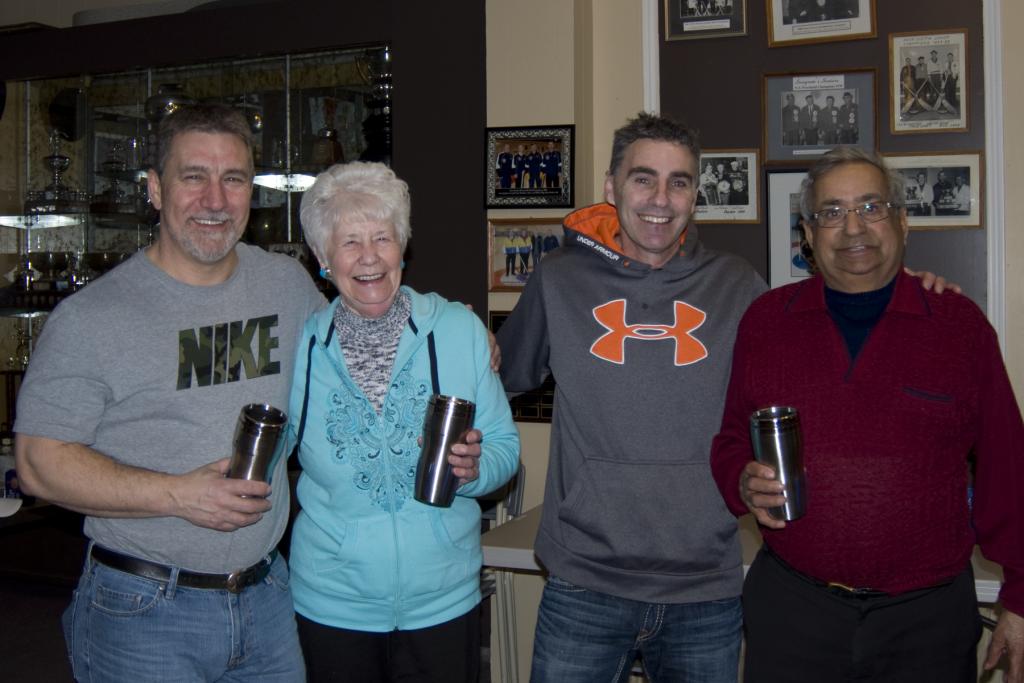 Club Champions: Ray Fowler,  Alice Duxbury, Ron Davis, Kumar Uberoi