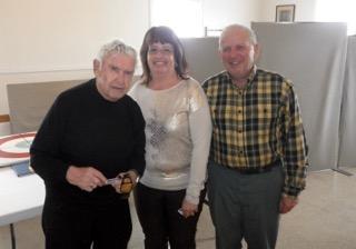 Roger Bacon, 3rd. Kathy Craib, 2nd. Walter Curry, Lead Glen Hudson